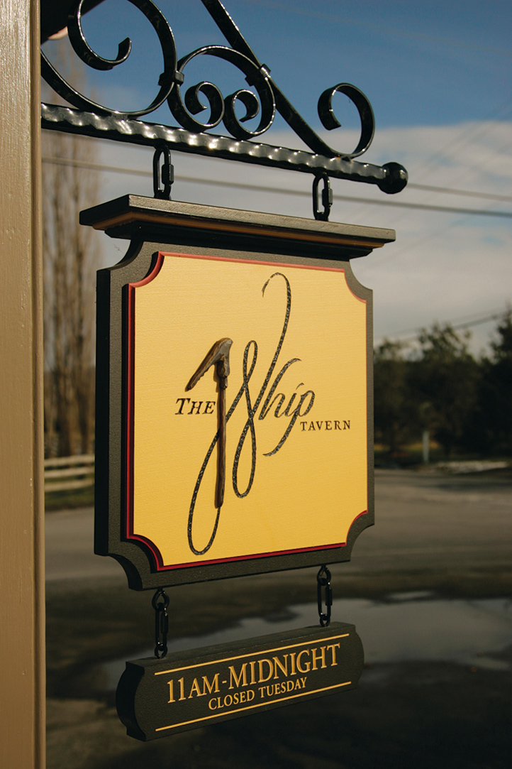 The Whip Tavern Sign
