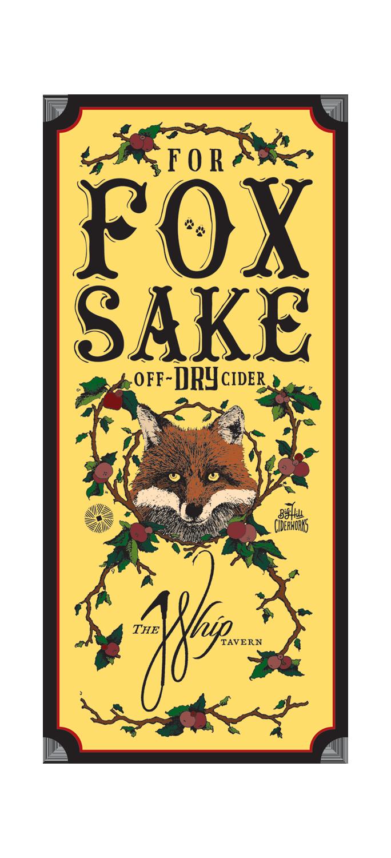For Fox Sake Cider Logo