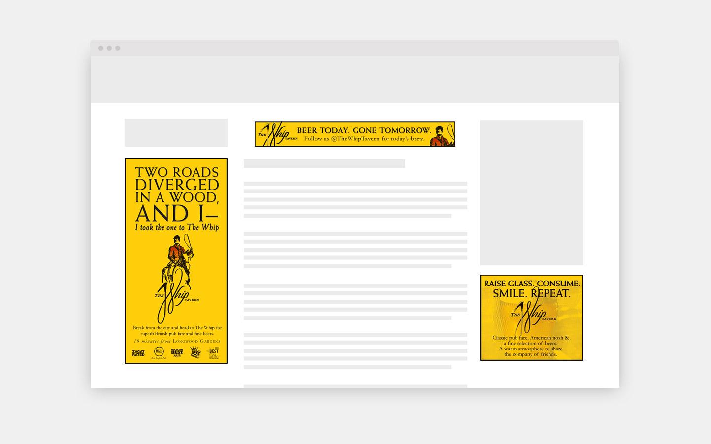 Web Ad Campaign
